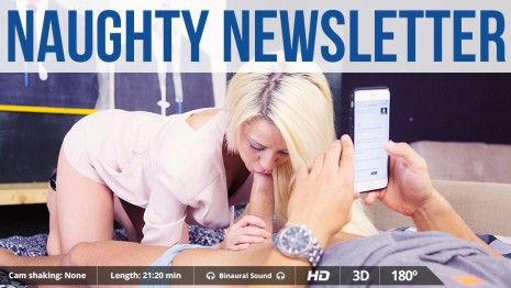 Naughty Newsletter #1