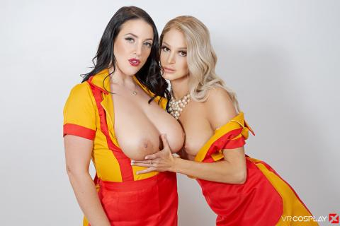 2 Broke Girls A XXX Parody #13