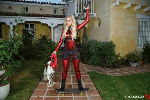 Lady Deadpool A XXX Parody #9
